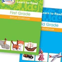 Learn To Read K-2 Bonus Workbooks